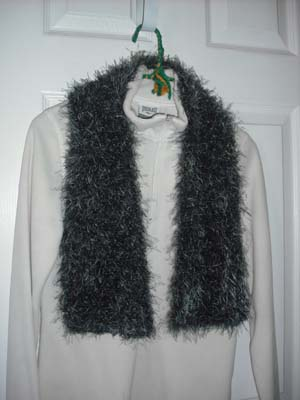 Knitting Pattern For Fun Fur Scarf : CROCHET SCARF USING FUN FUR   Only New Crochet Patterns